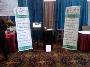 Cairn Applications booth at Nashua Expo 2011